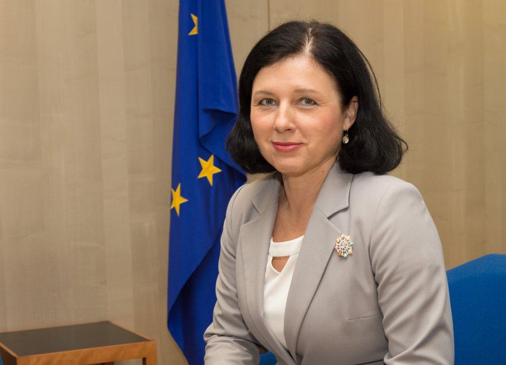 komisarz Vera Jourova