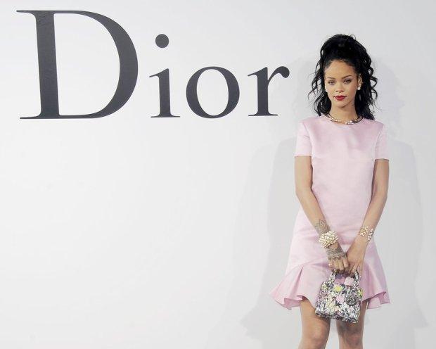 Rihanna== DIOR Cruise 2015 Show== Duggal Greenhouse, NYC== May 7, 2014== Photo - Nicholas Hunt/PatrickMcMullan.com== == (PatrickMcMullan.com via AP Images)