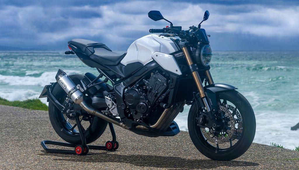 Honda CB650R WHITE EDITION