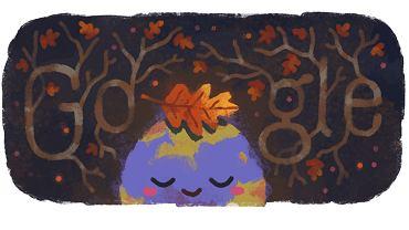 Google Doodle z okazji równonocy jesiennej 2019 (zdjęcie ilustracyjne)