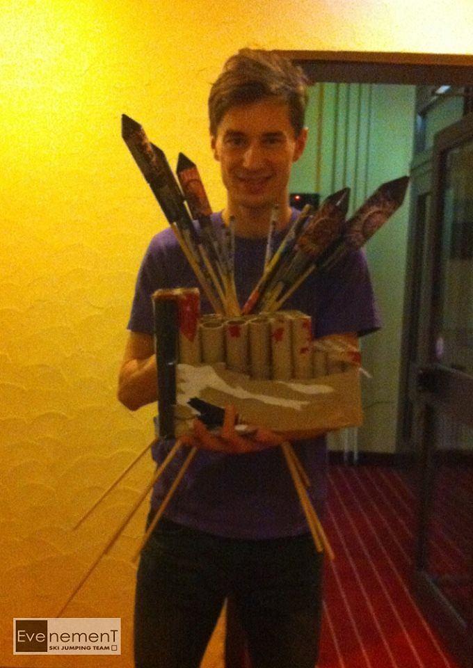 Kamil Stoch życzy Szczęśliwego Nowego Roku