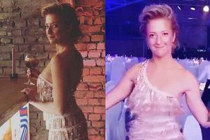 Lara Gessler w sukience z frędzelkami