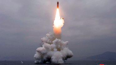 Pocisk wystrzelony przez Koreę Północną