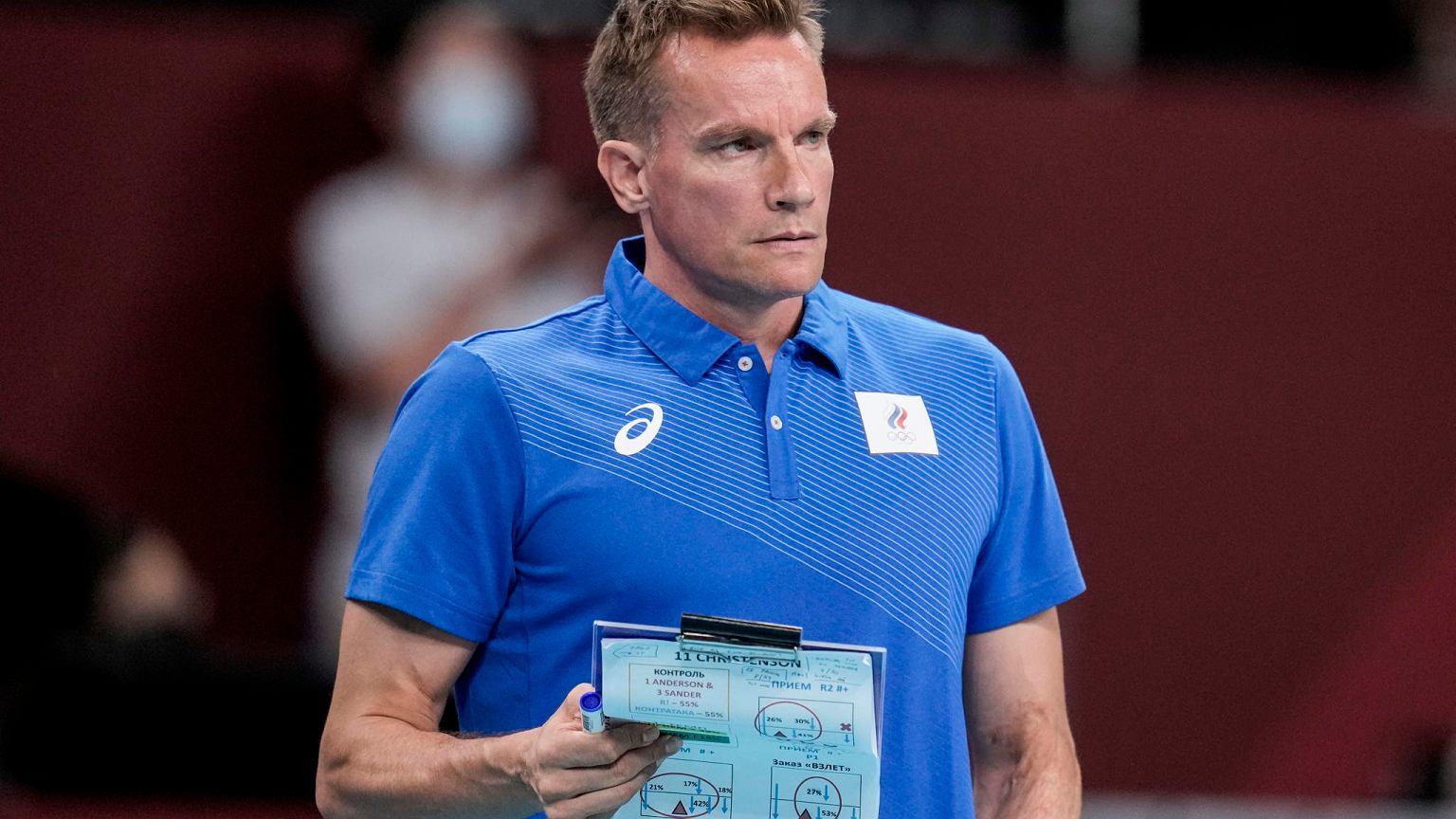 Trener Rosjan krytykuje zesp