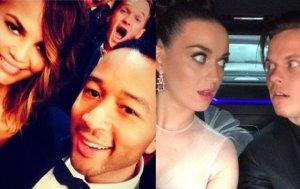 Katy Perry, Neil Patrick Harris, Chrissy Teigen, John Legend, Zobacz prywatne zdjęcia gwiazd z Grammy