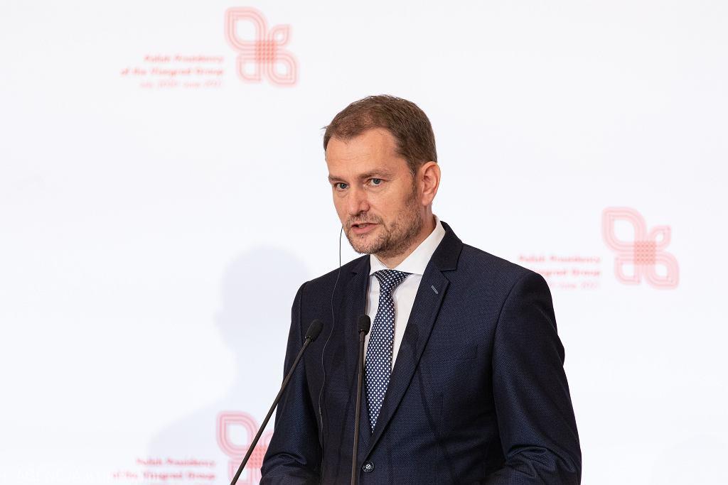 Premier Słowacji Igor Matovicz.