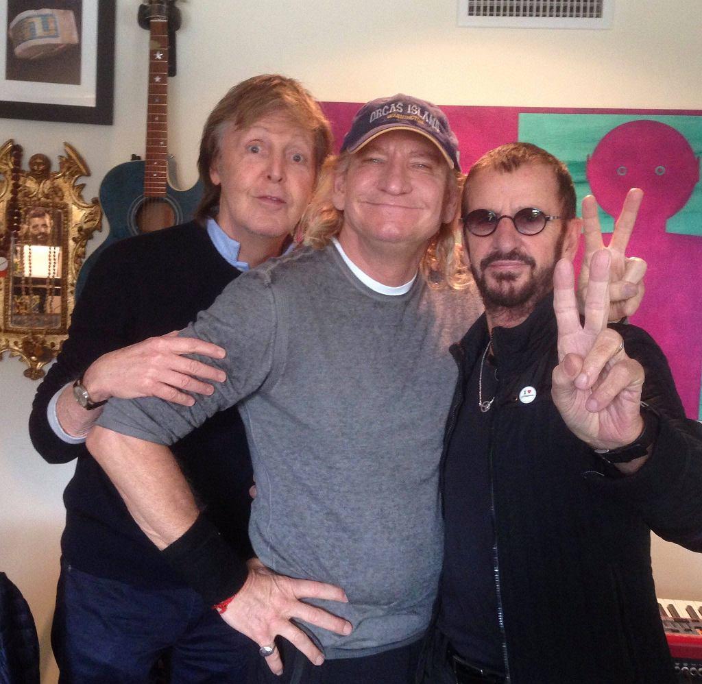 Ringo Starr z gośćmi