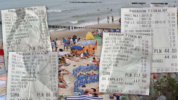 """Ile kosztuje dzień wakacji nad morzem? Prawie 800 zł. """"Nie szastaliśmy pieniędzmi na prawo i lewo"""""""