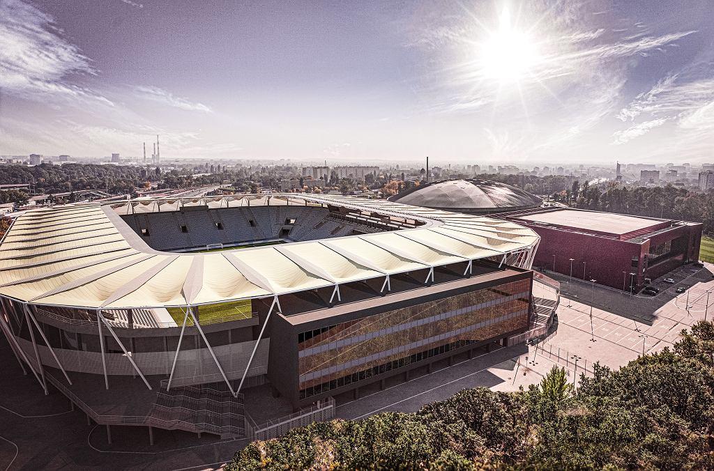 Stadion ŁKS Łódź - wizualizacja
