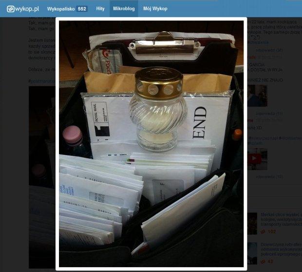 Zdjęcie numer 2 w galerii - Listonosze muszą sprzedawać znicze? Poczta Polska wyjaśnia