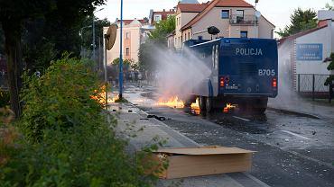 Protesty w Lubinie pod śmierci 34-latka