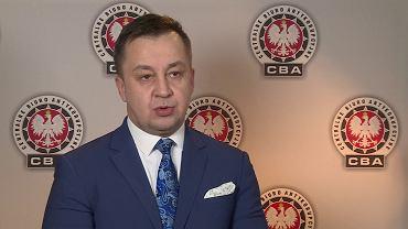 Piotr Kaczorek, rzecznik Centralnego Biura Antykorupcyjnego.