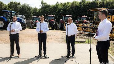 Wizyta premiera w Brzydowie