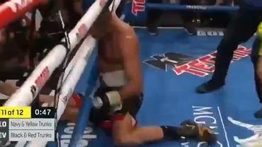 Brutalny nokaut podczas walki o tytuł mistrza świata WBO! Alvarez nie dał szans Kowaliowowi [WIDEO]