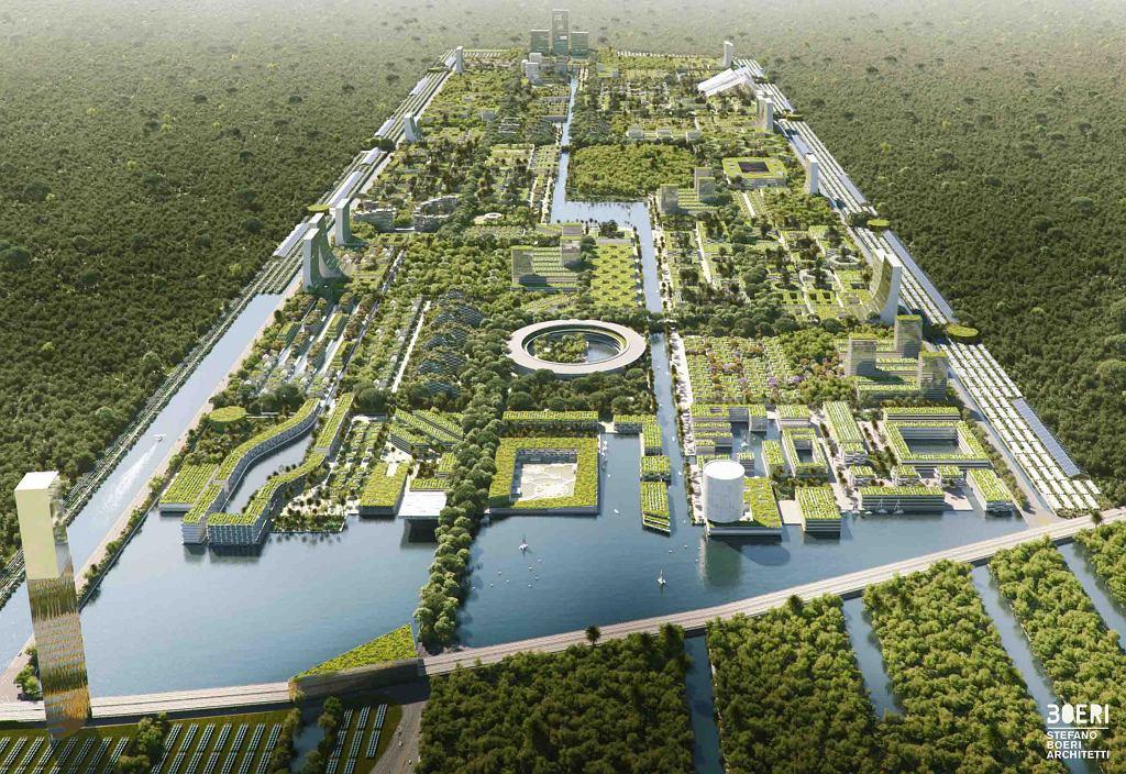 Wizualizacja projektu miasta