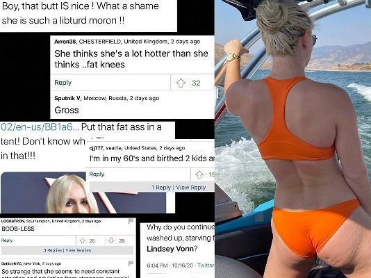 Lindsey Vonn odpowiedziała hejterom