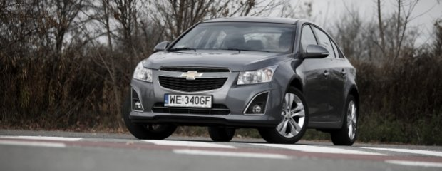 Chevrolet Cruze 4d 1.8 LPG | Test