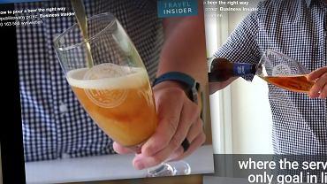 Nalewasz piwo w ten sposób? Przez to masz wzdęcia. Ekspert tłumaczy, jak robić to dobrze