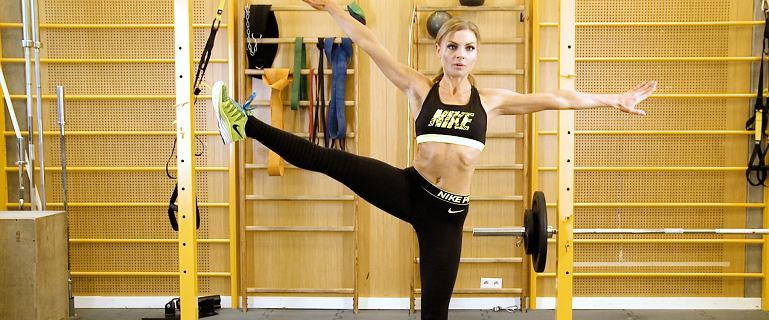 Model Body Workout. Trening wysmuklający nogi z Kasią Rain