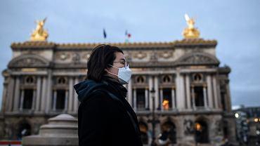 Koronawirus w Paryżu (zdjęcie ilustracyjne)