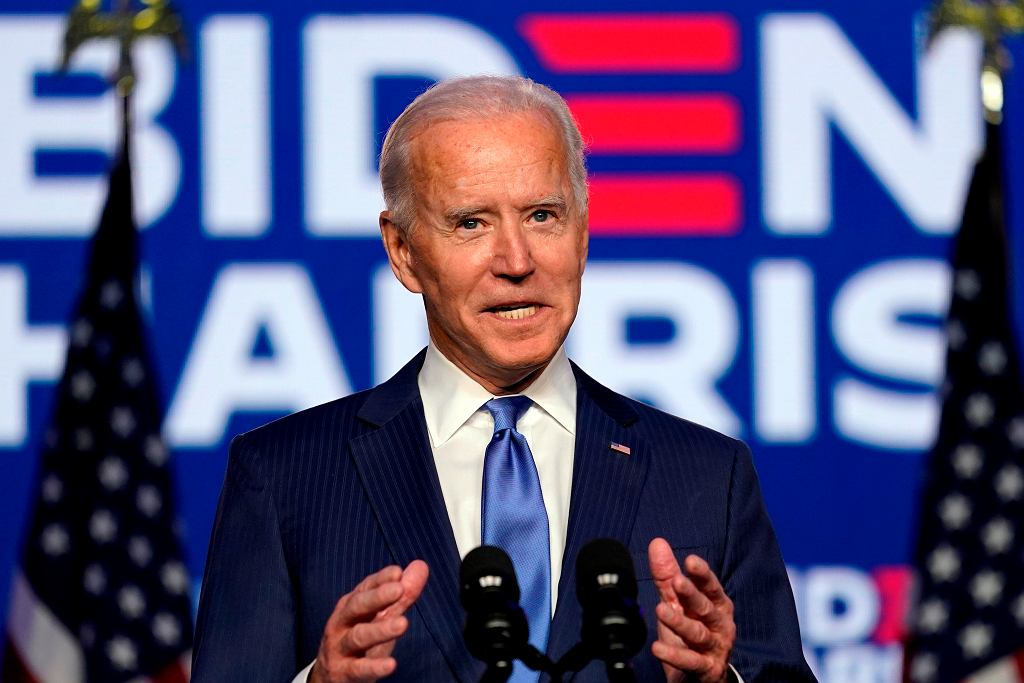 Prezydent-elekt Joe Biden.