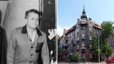 Bogdan Arnold mieszkał przy ul. Dąbrowskiego w Katowicach
