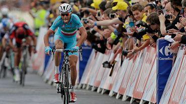 <b>Vincenzo Nibali</b> na mecie drugiego etapu Tour de France