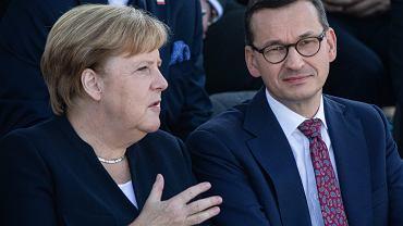 Angela Merkel i Mateusz Morawiecki.