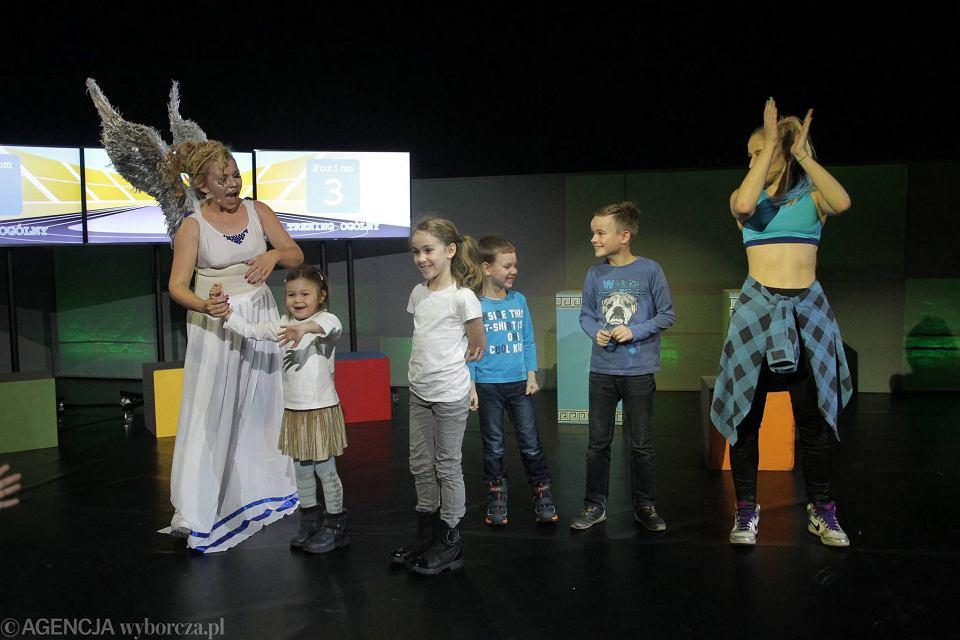 Teatr Muzyczny Roma Promuje Zdrowe Jedzenie Idz Precz Bulo