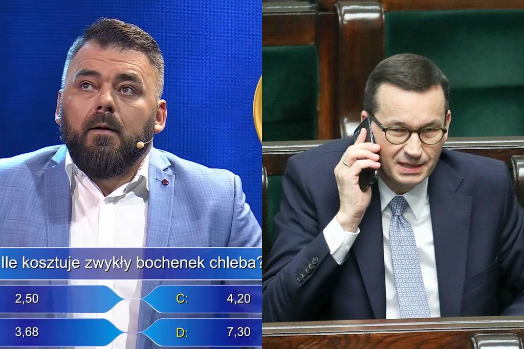 Skecz kabaretowy, Mateusz Morawiecki