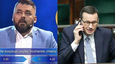 """Morawiecki pod telefonem do przyjaciela w """"Milionerach"""". Skecz kabaretu hitem"""
