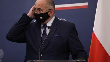 LBriefing prasowy ministrw spraw zagranicznych Polski i Niemiec po spotkaniu