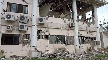 Trzęsienie ziemi na wyspie Mindanao, Filipiny.