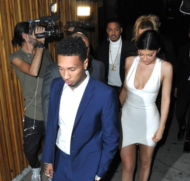 Kylie Jenner, Tyga, American Music Awards