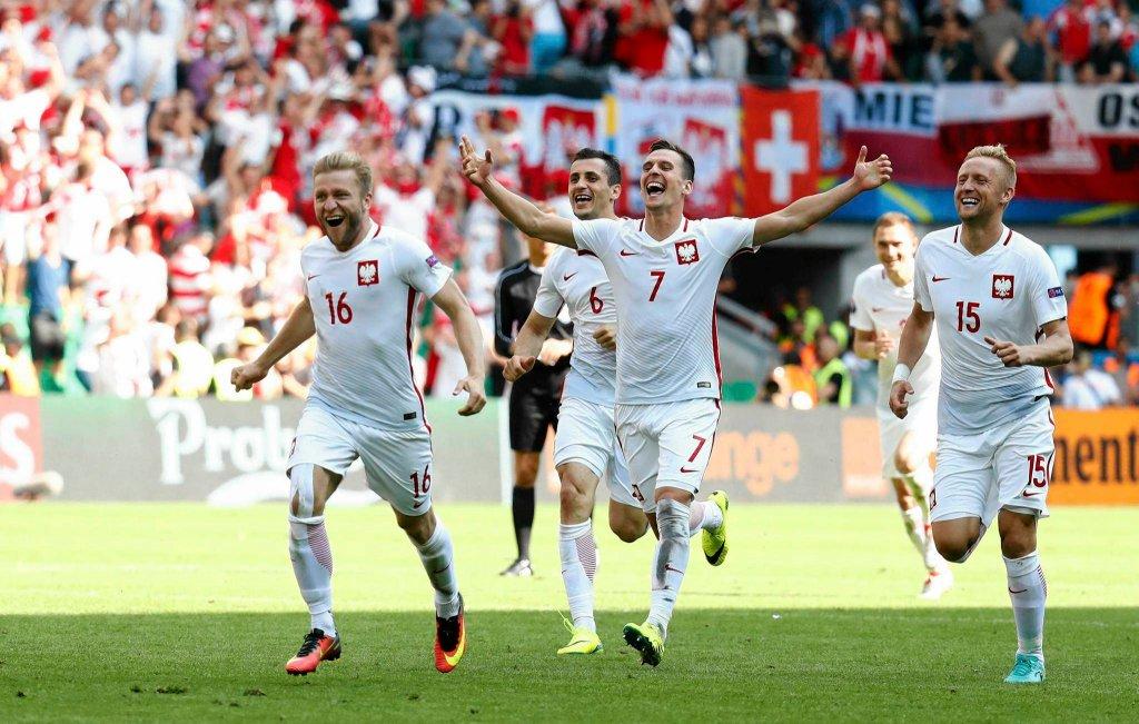 Euro 2016. Polska wygrała ze Szwajcarią