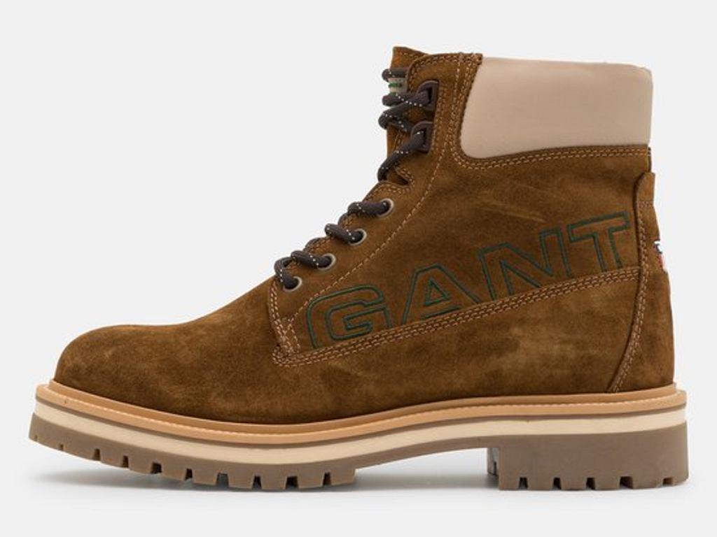 sznurowane botki Gant