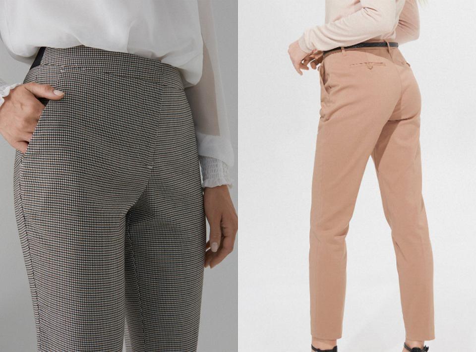 Spodnie sprzyjające sylwetce