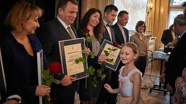 Wręczenie nagród 'Łódzkie Łabędzie'