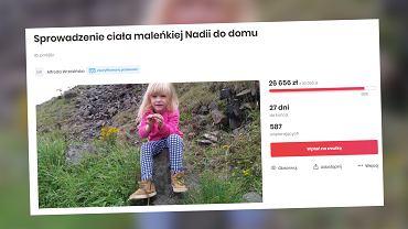 Babcia 5-letniej Nadii zbiera na sprowadzenie ciała wnuczki do Polski