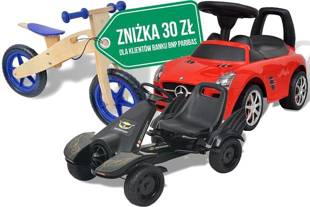 Rowerki i inne pojazdy dla dzieci