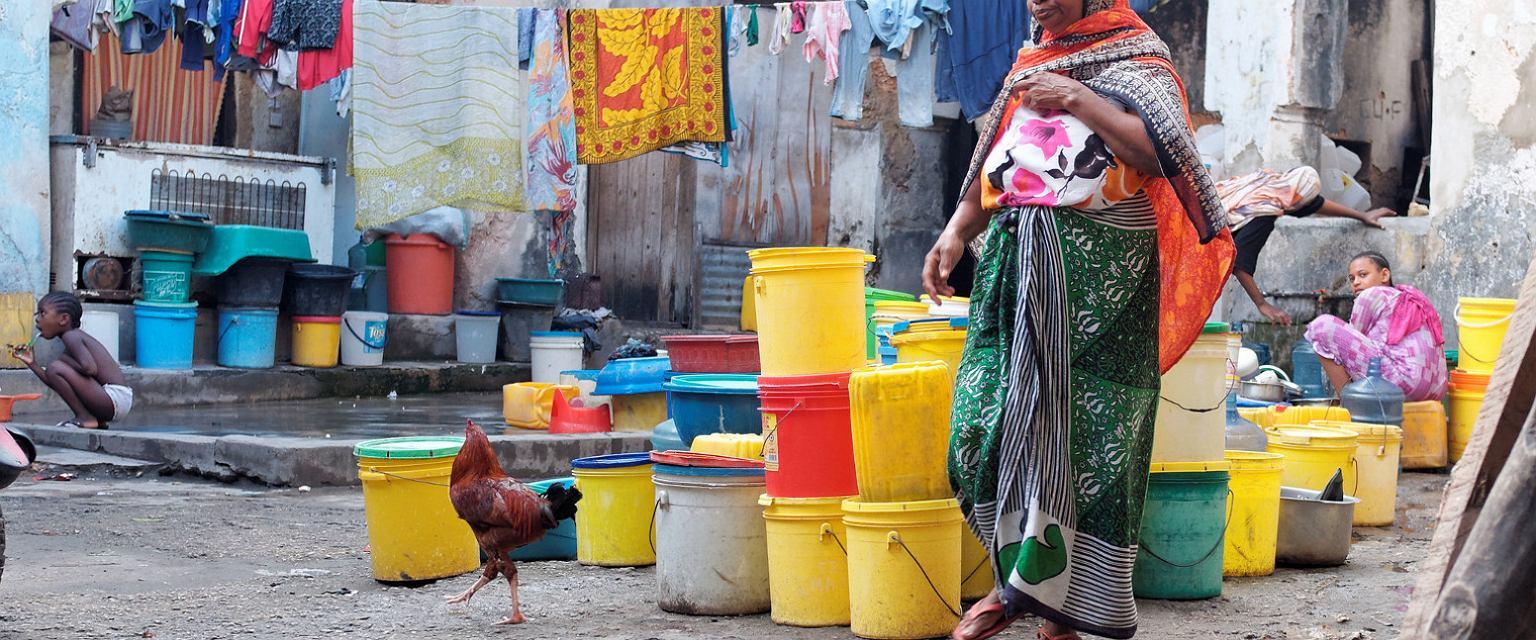 Stone Town, zachodni Zanzibar (fot. Denkrahm / Flickr.com / CC BY-ND 2.0))
