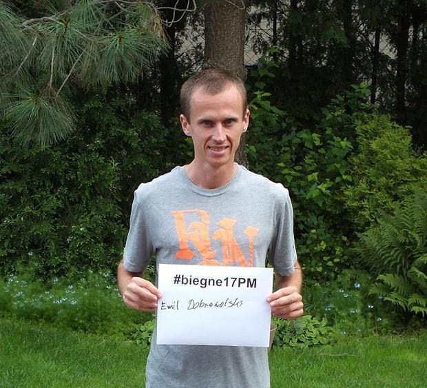 Emil Dobrowolski pobiegnie w 17. PKO Poznań Maratonie