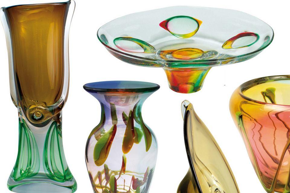 Polskie szkło kryształowe, które zaprojektował Marian Pyrcak.