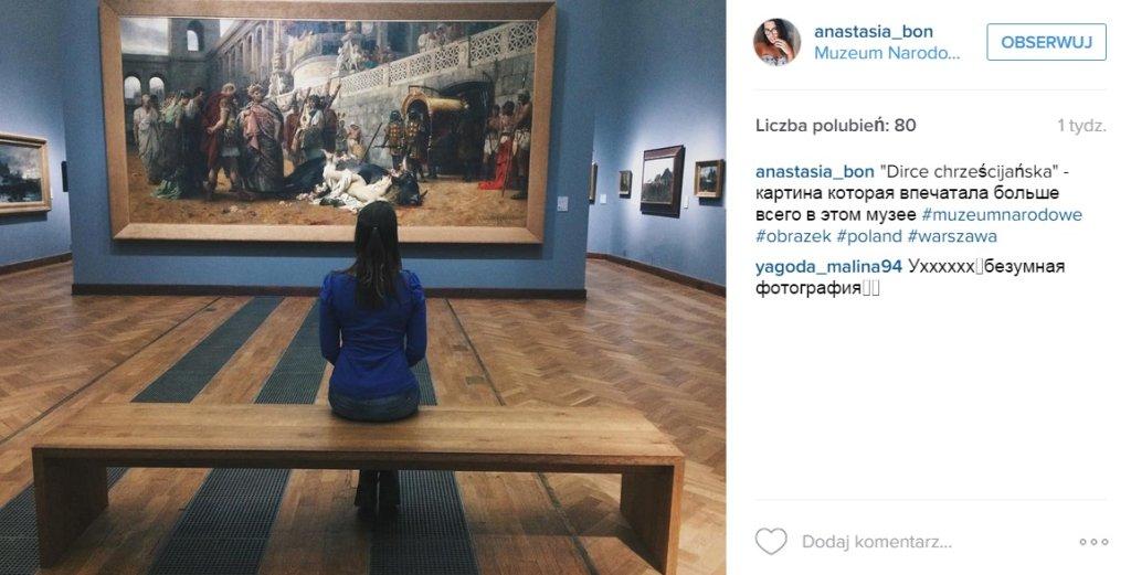 Muzea na Instagramie