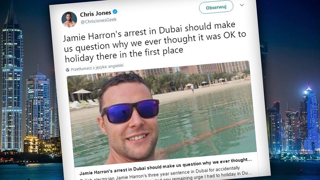 Jamie Harron w artykule The Independent