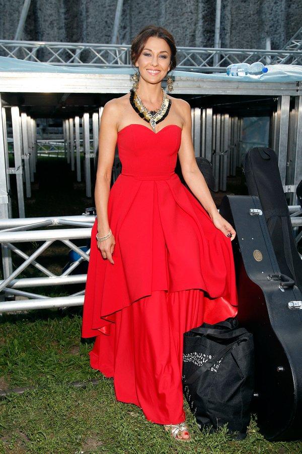 Anna Popek na Festiwalu Piosenki i Kultury Romów. Kreacje