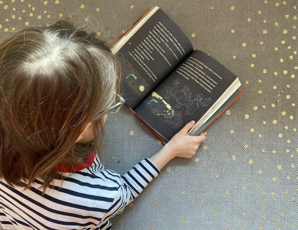 Czytanie jest super!
