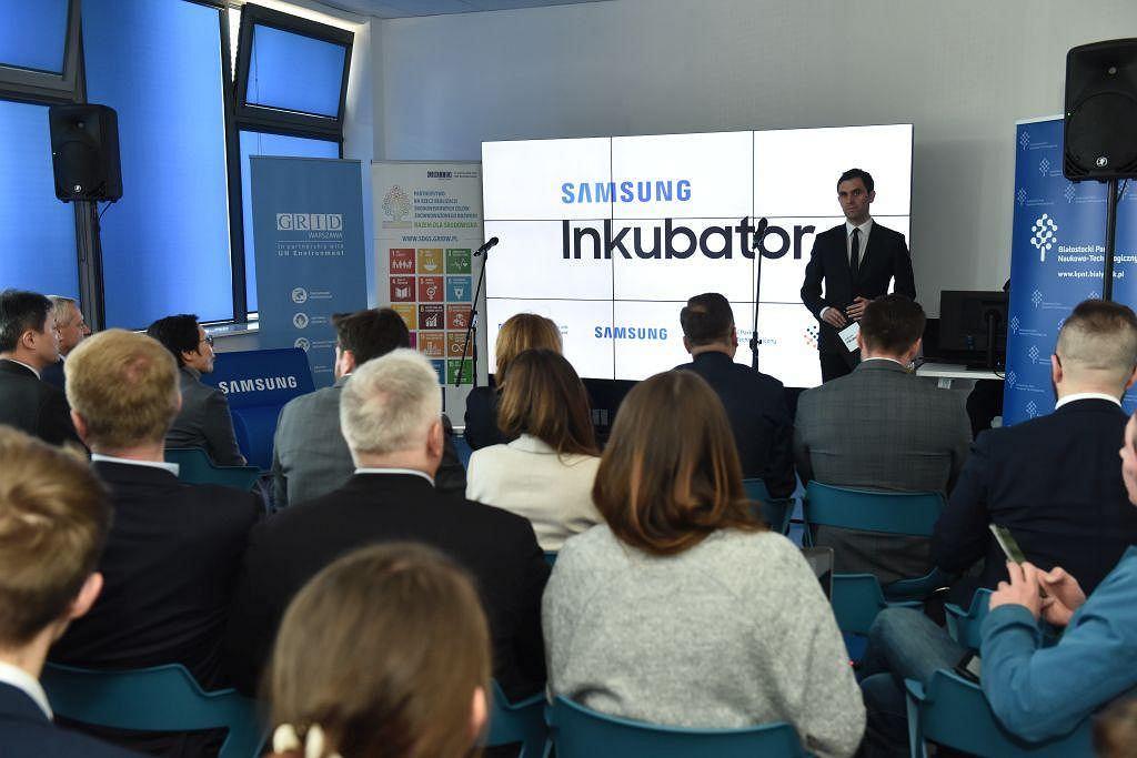 Otwarcie Inkubatora Samsunga