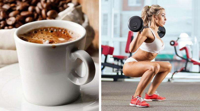 Kawa przed treningiem dodaje energii i podkręca metabolizm