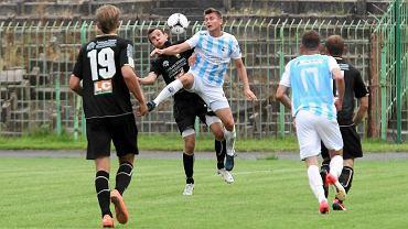 Piłkarze Stomilu w pucharowym meczu z Bogdanką Łęczna